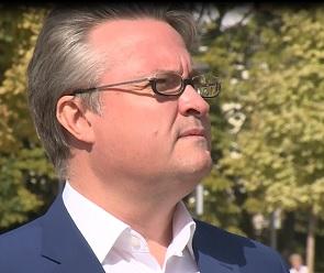 Вадим Кстенин поздравил воронежцев с Днем города в видеообращении