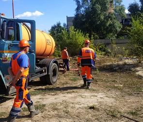 Из-за утечки на трубопроводе жители двух воронежских районов остались без воды