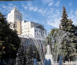 Сезон фонтанов завершился в Воронеже