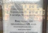 Невакцинированным вход запрещён: итоги первого дня работы QR-кодов в Воронеже
