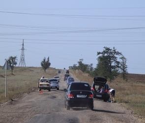 Воронежцев зовут поучаствовать в конкурсе на самую необычную дорожную заплатку