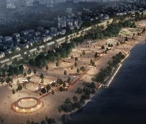 Опубликован проект реконструкции второй очереди Петровской набережной